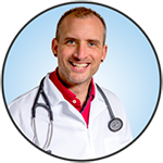 Meet Dr. Jason Kellsey. Just one of the friendly veterinarians at McLeod Vet Clinic