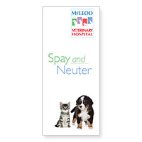 Download McLeod Vet Clinic's information on having your pet spay or neutered
