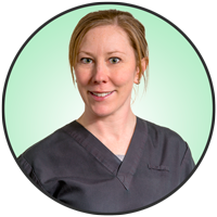 Amy Weir is an animal health technologist with the friendly staff at McLeod Vet Hospital.