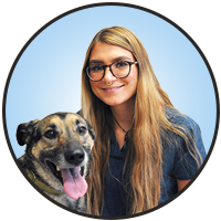 August Sontag is one of the friendly and professional veterinary assistants at McLeod Veterinary Hospital.